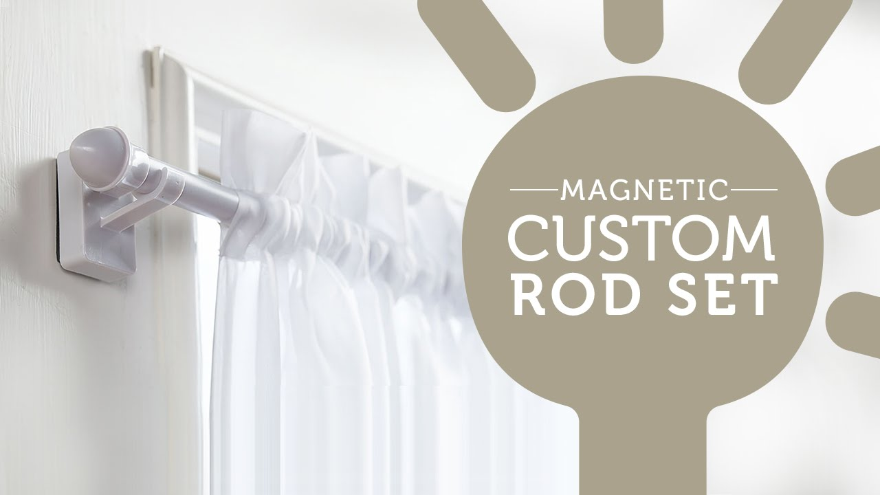 How To Easily Hang Curtains On Metal Doors And Windows YouTube