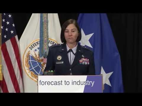 Air Force Maj Gen Sarah Zabel - Forecast to Industry 2015 Opening Remarks