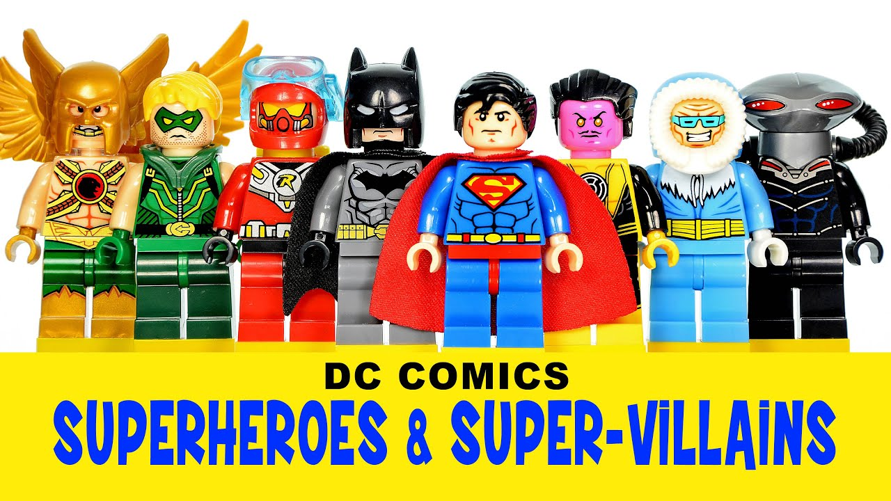 LEGO DC Superheroes & Super-Villains KnockOff Minifigures ...