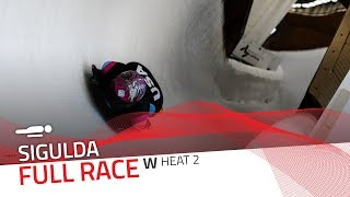 Sigulda | BMW IBSF World Cup 2019/2020 - Women's Skeleton Heat 2 | IBSF Official