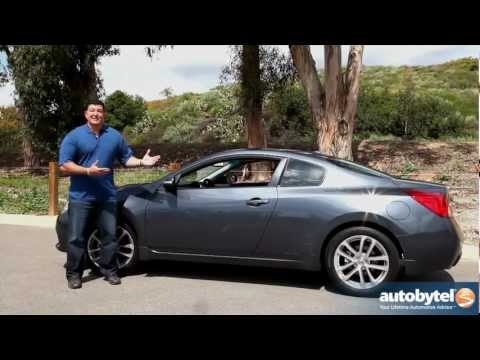2012 Nissan Altima Coupe Car Review