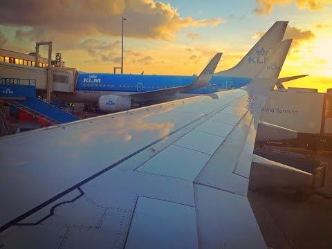 KLM Flight Report : KL1610 Istanbul to Amsterdam Boeing 737-800 SamyTravels