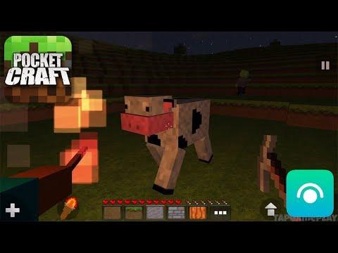 Pocket Craft: Survivor Mode - Gameplay Trailer (iOS)