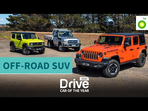 2020 Best Off-road SUV: Jeep Wrangler Rubicon, Toyota LandCruiser, Suzuki Jimny