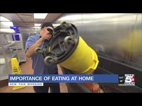 Families can reduce food waste by eating at home