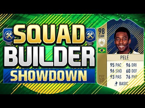 FIFA 18 SQUAD BUILDER SHOWDOWN!!! PRIME ICON PELE!!! 98 Pele Squad Duel