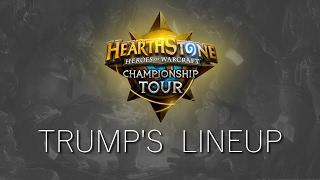 Hearthstone: Trump's Championship Lineup