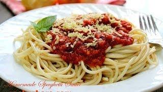 Italian Inspired Spaghetti Sauce
