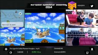 European Speedster Assembly: Zelda: Phantom Hourglass speed run in 3:33:55