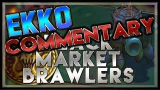 Black Market Brawlers Gameplay (Ekko Mid) - League of Legends
