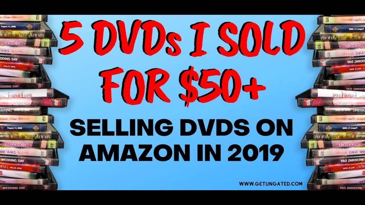 5 Used DVDs I Sold For Over $50 - Selling DVDs On Amazon 2019