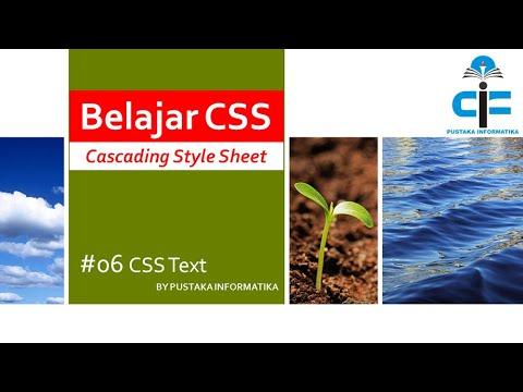 #06 CSS Text