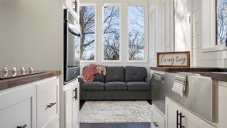 Tour This Luxury Tiny House With 21 Windows!