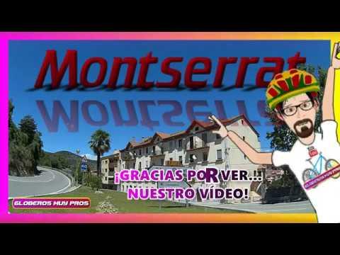 Bajada completa en bici desde Montserrat, Descenso en bicicleta Montserrat, Monistrol de Montserrat