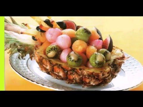 Салат Экзотика- болгарский перец и киви.