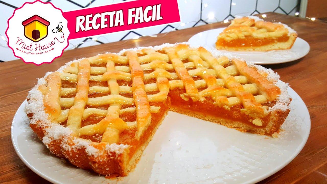 Receta de Pasta Frola SUPER FACIL masa y relleno de dulce