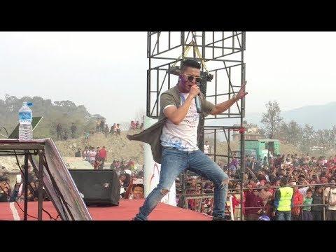 Laure Case No 420 Live Concert In Bhaktapur   Ashish Rana Laure Nepali Rapper   Holi Special Nepal