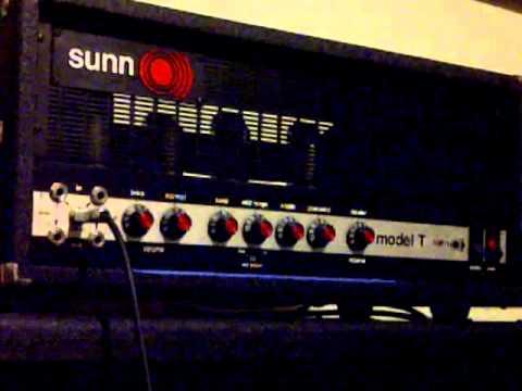 1975/76 sunn model t more gain dirty sound