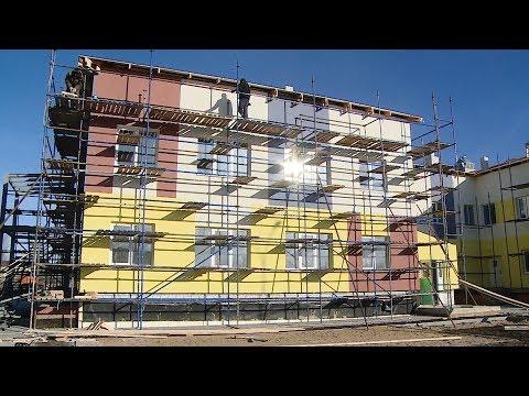 В Новоаннинском районе завершается строительство детского сада