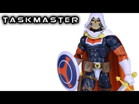 Marvel Legends TASKMASTER Thanos Wave Action Figure Review