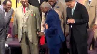 (Wed) Apostle Floyd Nelson Sr. Praising God at Evangel Fellowship COGIC 57th Holy Convocation