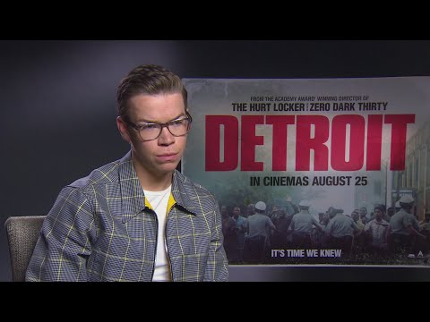 DETROIT: Will Poulter on playing a racist cop
