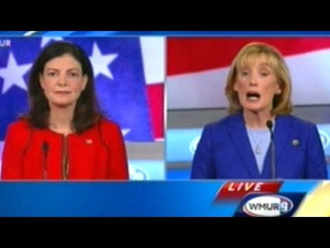 SENATOR AYOTTE vs GOVERNOR HASSAN NEW HAMPSHIRE SENATE DEBATE
