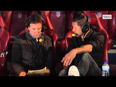 Simeone repasa en 'El Larguero' un año histórico para el Atlético. Cadena SER