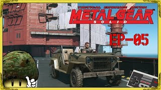 🔫 METAL GEAR SOLID V THE PHANTOM PAIN EP 05 🚚 JE DÉBLOQUE LE PREMIER VÉHICULE ! [PC-FR-720P-60FPS]