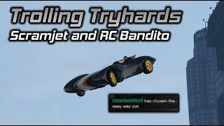GTA Online: Trolling Tryhards with the Scramjet and RC Bandito