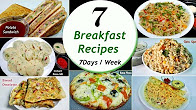 7 Breakfast recipes