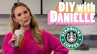 How to Make a Starbucks Frappuccino | DIY with Danielle | Seventeen