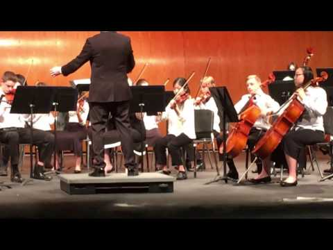 Jackson Creek Middle School Orchestra 2017 Issma