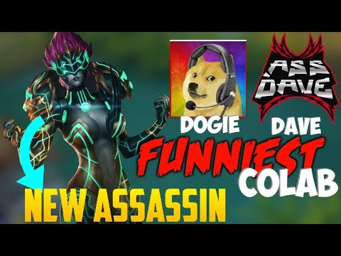 New Assassin Sonya | FUNNIEST Colab Gameplay feat. Akosi Dogie | Mobile Legends