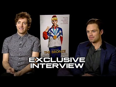 Thomas Middleditch and Sebastian Stan Interview THE BRONZE