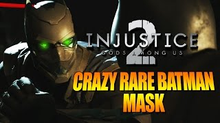 CRAZY RARE BATMAN MASK! Batman - Injustice 2 Online Beta