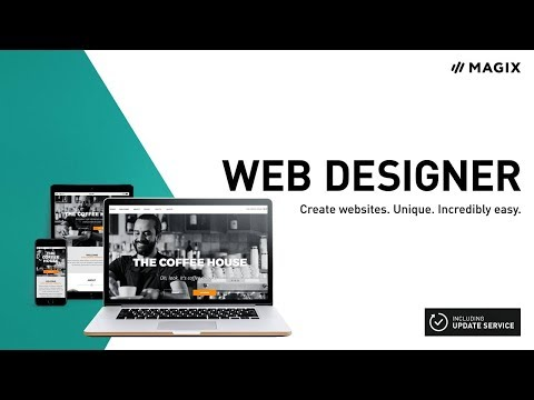 Xara Web Designer (INT) - Easily create your own websites