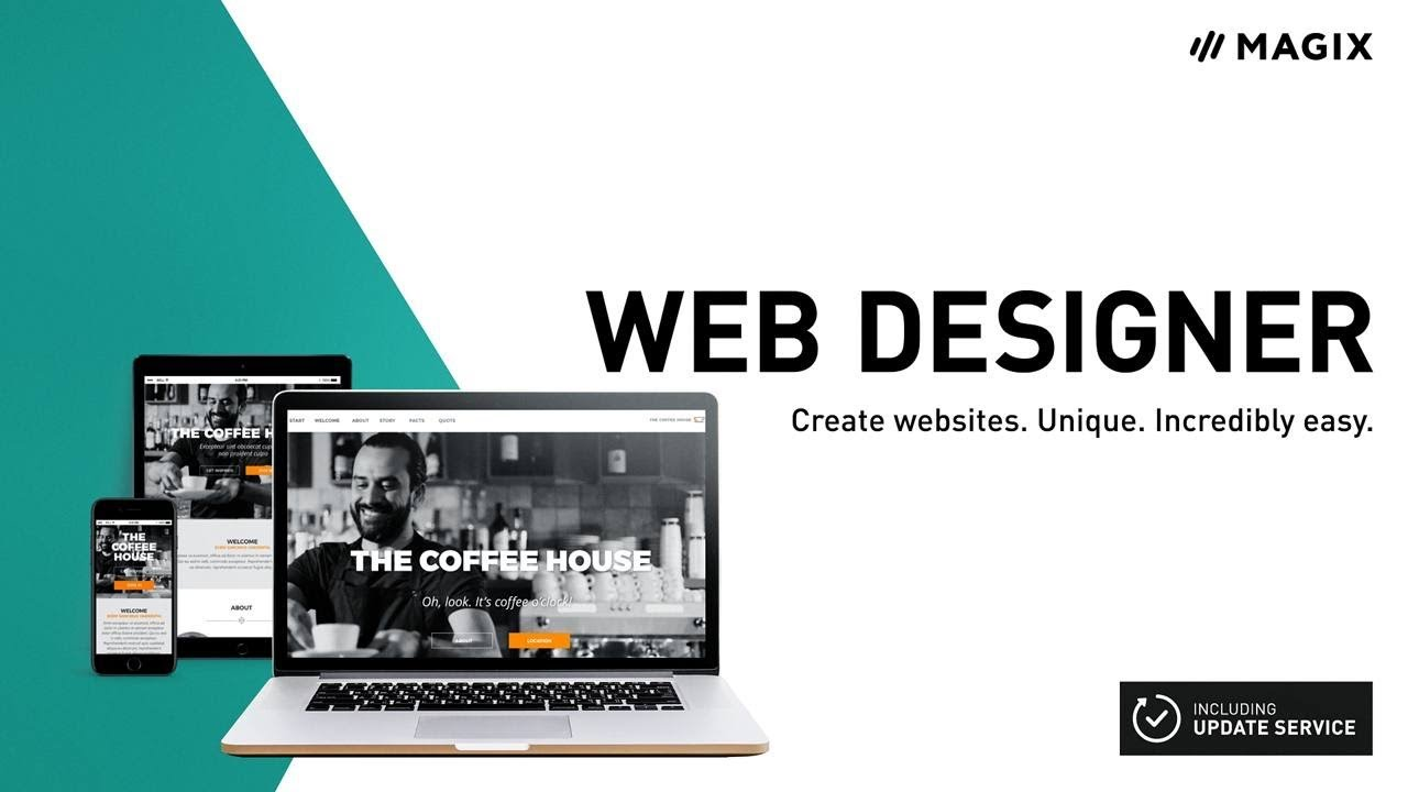 Xara Web Designer (INT) - Easily create your own websites - YouTube