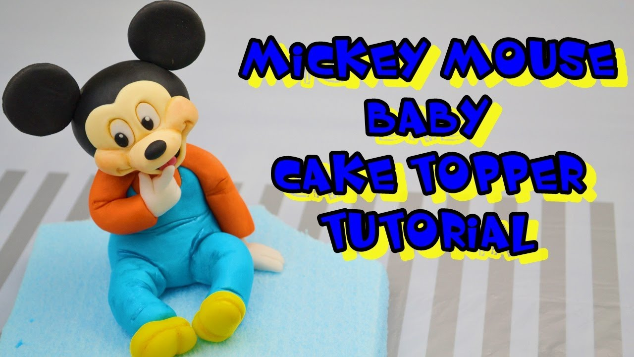 Mickey Mouse Cake Topper Youtube