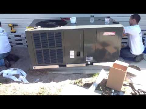 AC Package Equipment; Goodman System Install
