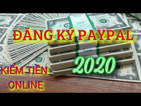 Cách tạo tài khoản paypal 2020 | KIẾM TIỀN ONLINE
