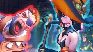 Bewitched Evie : Paladins Ranked 10-4-2017