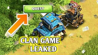 CLAN GAMES ARE COMING | OFFICIAL UPDATE TEASER BY **SUPERCELL**  *NOT CLICKBAIT*