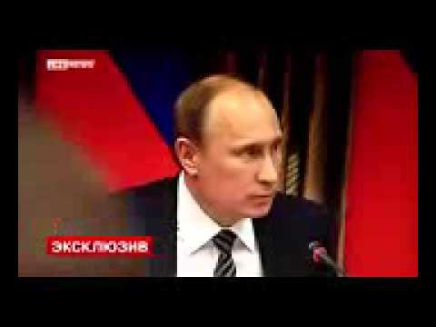 Путин в Калмыкии орёт на министров.