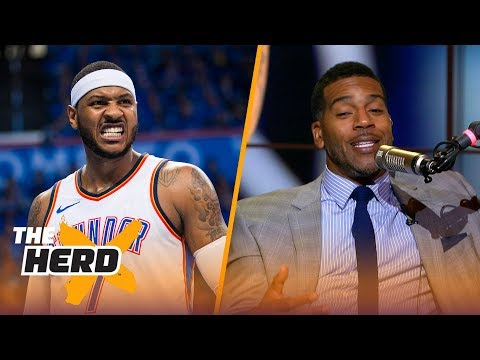 Jim Jackson on 'Melo being a liability or asset to Rockets, New-look Lakers | NBA | THE HERD