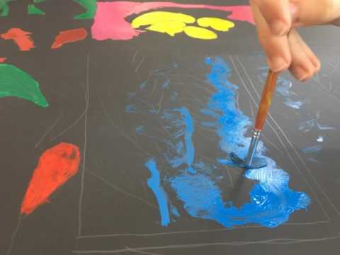 Pintando Henri Matisse - The Egyptian Curtain
