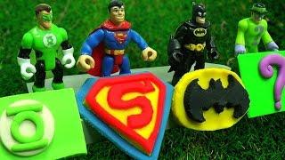 Download Play Doh | SuperMan Batman The Avenger Logos Of Superheroes | CDS Kids Tv