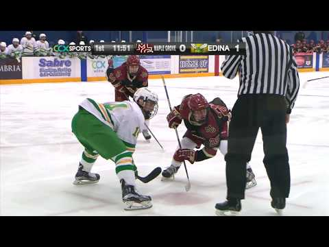 Maple Grove Vs. Edina TurkeyTrot Boys Hockey - Full Game