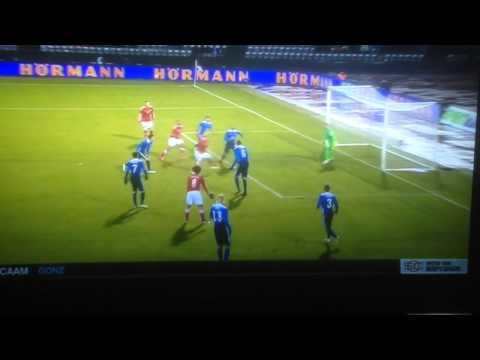 Lord Bendtner Hat-trick against U.S.A (Denmark 3-2 U.S.A.)