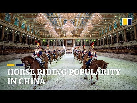 Horse Riding Popularity In China